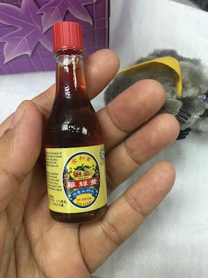 Jangan Sampai Terlebih Makan, minyak yu yee cap limau