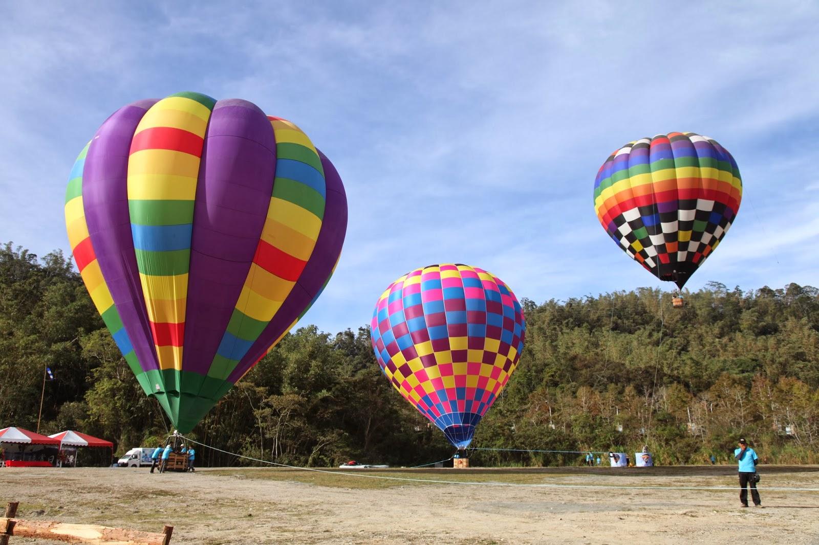 埔里報導雜誌: 明潭向山遊客中心 11月起熱氣球升空