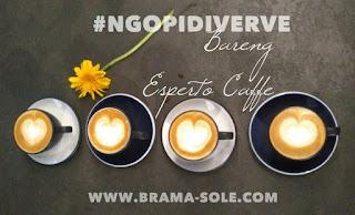 Ngopi di Verve Bistro & Coffee Bar Bersama Esperto Caffe