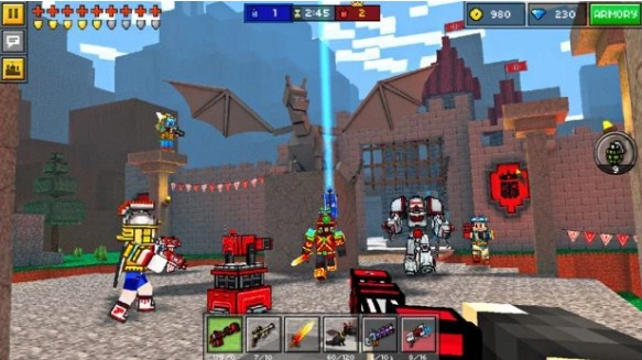 Game Pixel Gun 3D (Pocket Edition) Mod Apk