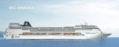 пассажирский корабль MSC Armonia cruise ship