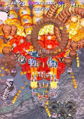 Ibara arcade videojuego portable infierno de balas descargar gratis