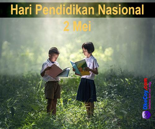 Ucapan Hari Pendidikan Nasional