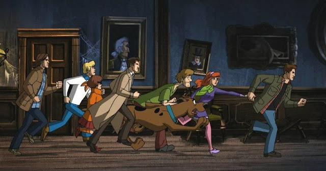 Supernatural Scooby-doo Scoobynatural crossover warner channel