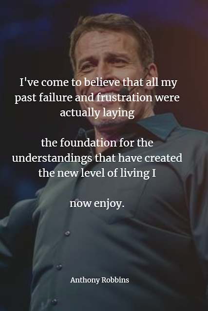 Vest Anthony Robbins Inspirational quote