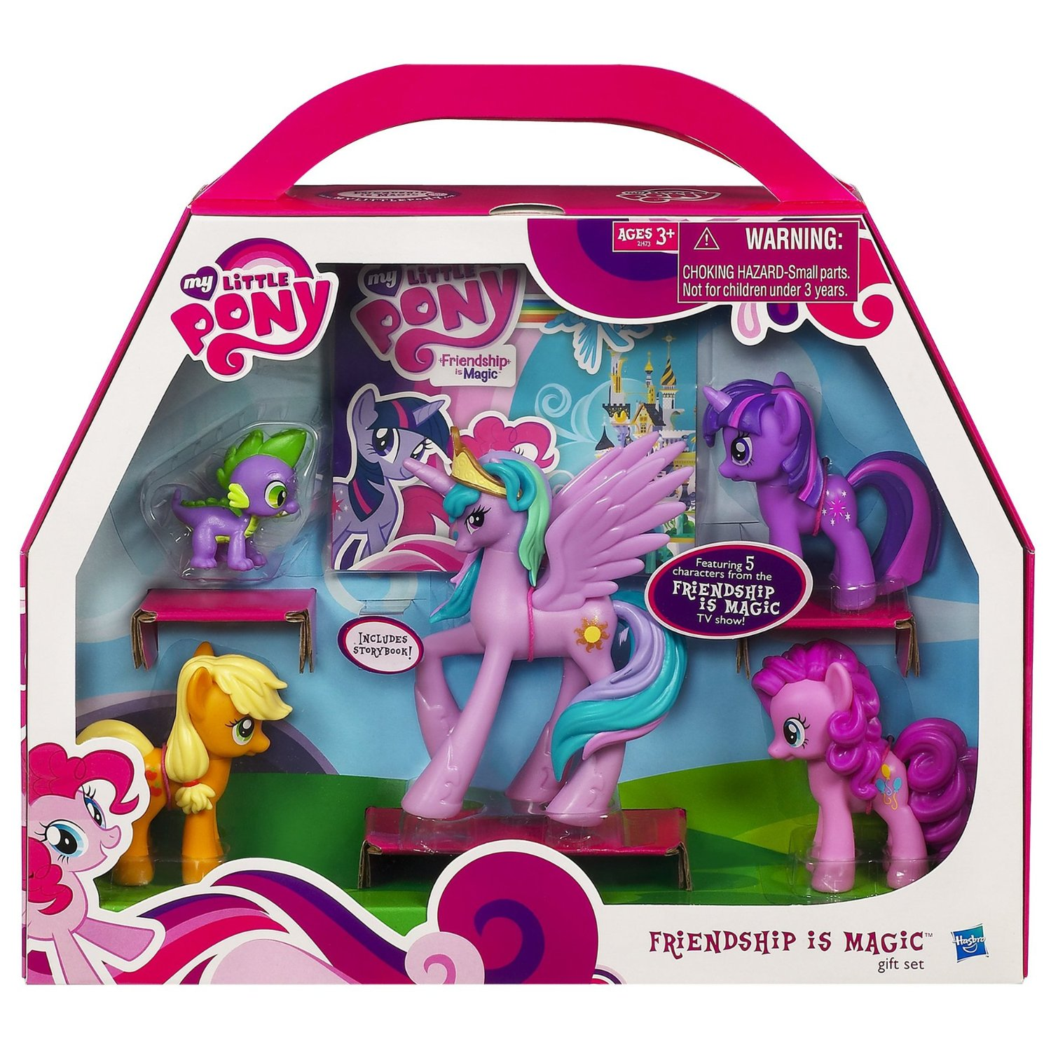My Little Retro Pony Gift Set-Parasol Moonstone Windy Skydancer Starshine