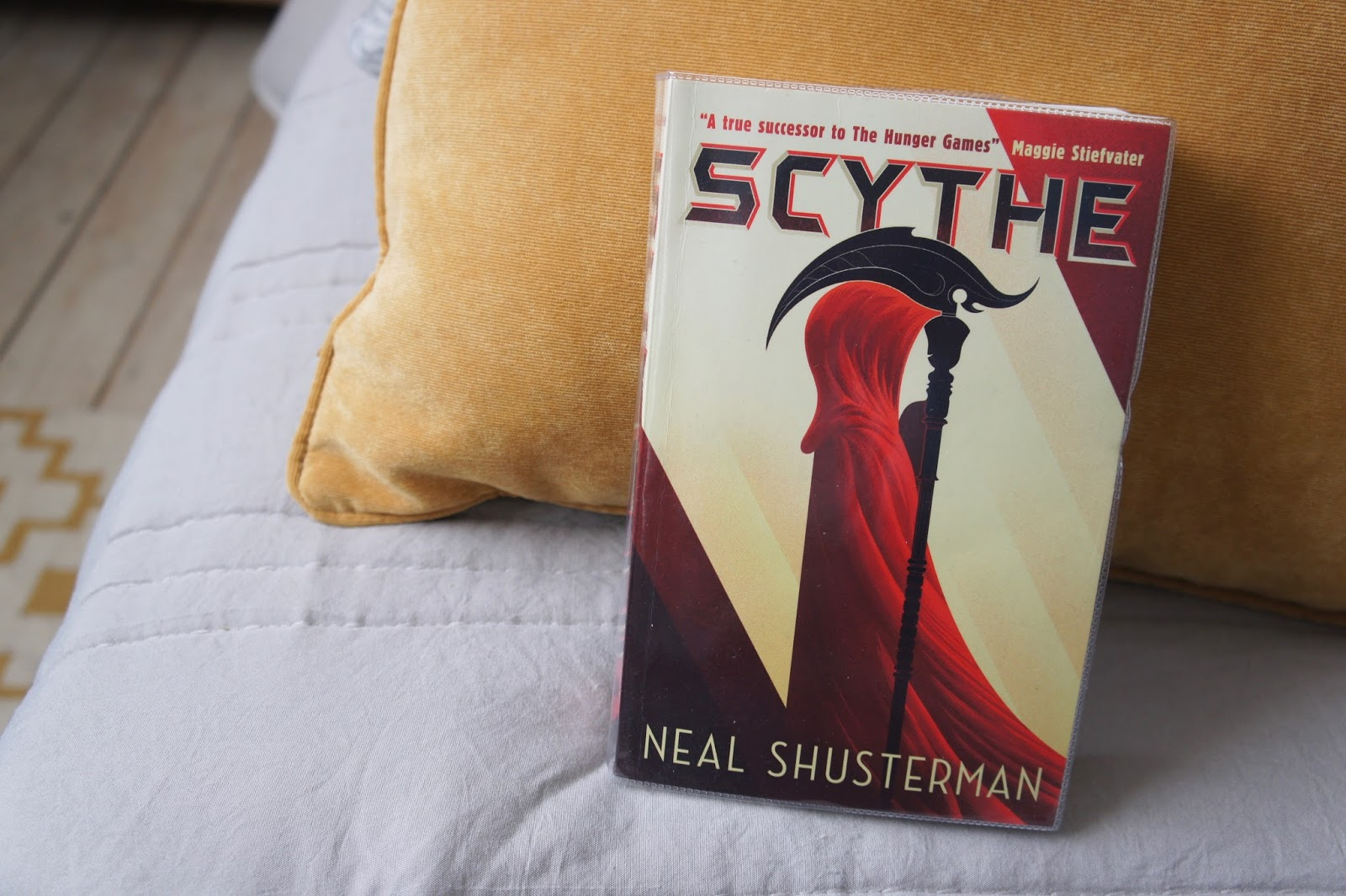 scythe neal shusterman review blogger's bookshelf