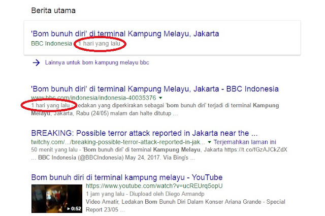 Mengapa BBC Sudah Memberitakan Bom Kampung Melayu Sehari yang Lalu?