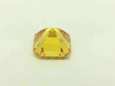 Asscher-Cut-Cubic-Zirconia-Golden-Yellow-Colored-Gemstones-Suppliers