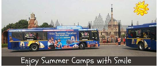 summer camp bus delhi