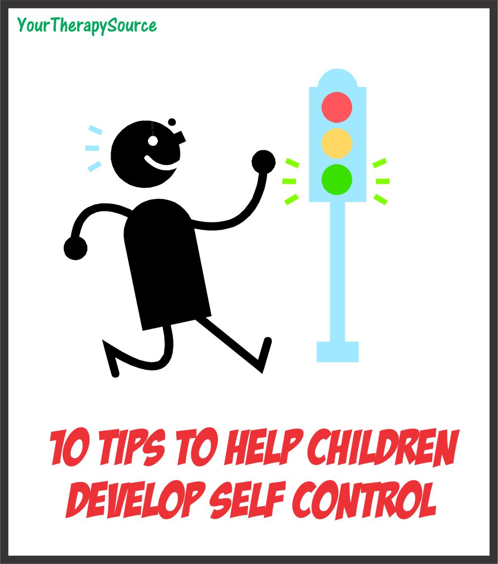 10 Tips To Help Develop Self Control In Children