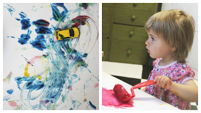 Ondeugende Spruit Schilderen Kinderen Activiteit
