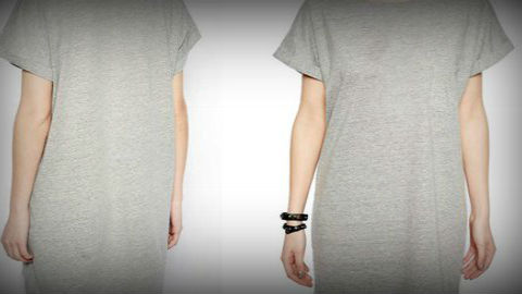 Nahanleitung t shirt kleid