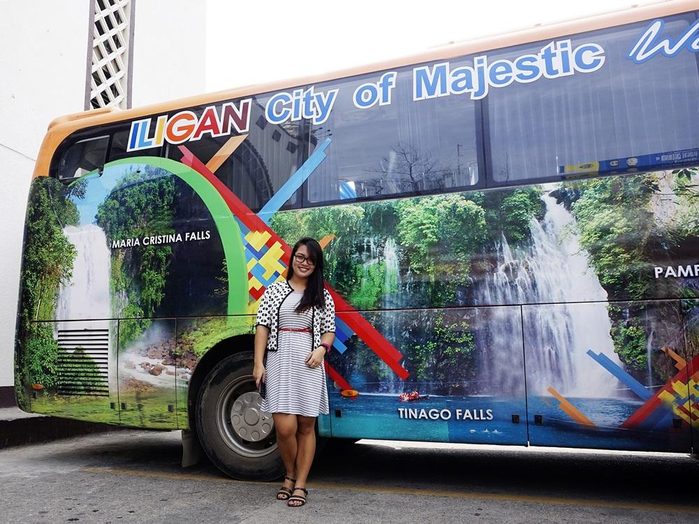 Iligan City's Tourism Bus