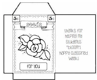 Teaching's a Hoot!: Classified Staff Appreciation Week!