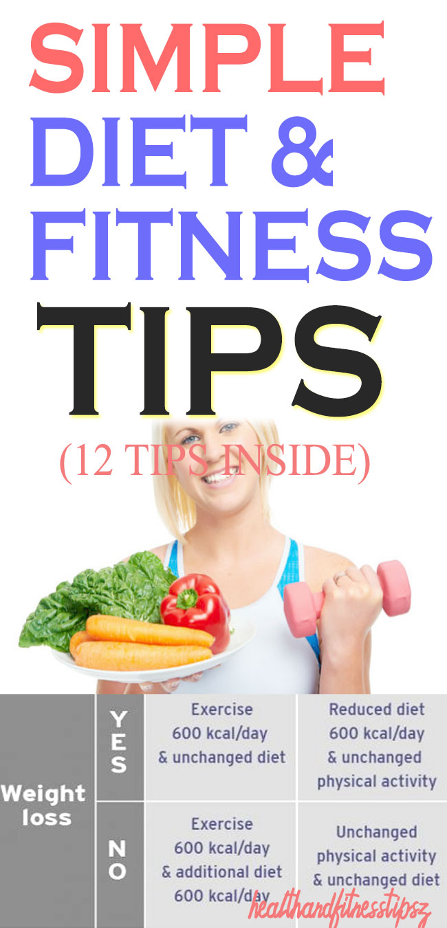 simple fitness and diet tips