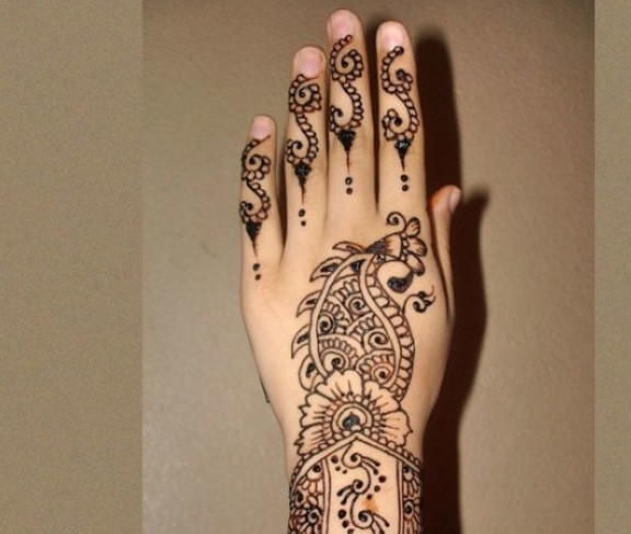 Henna Flower Designs Meanings Gallery