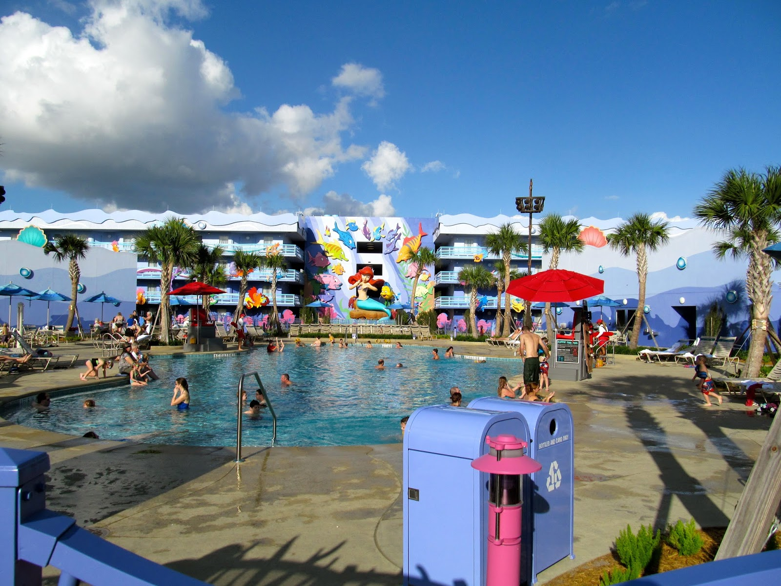 Little Mermaid Area at The Art of Animation Resort