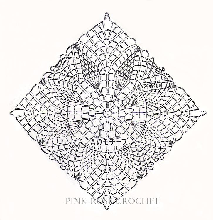 Pink Rose Crochet: Doily 93