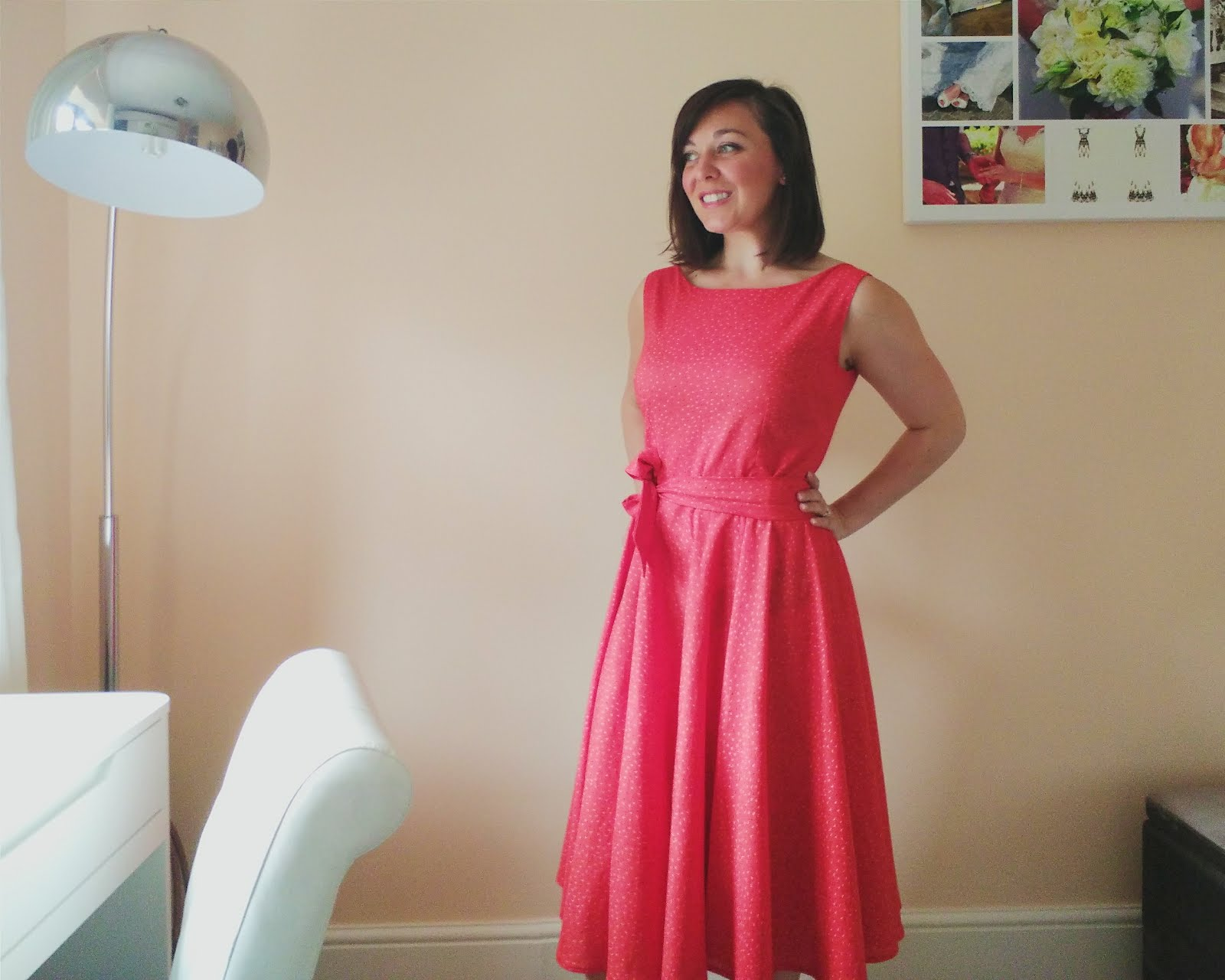 Betty Dress with a belt