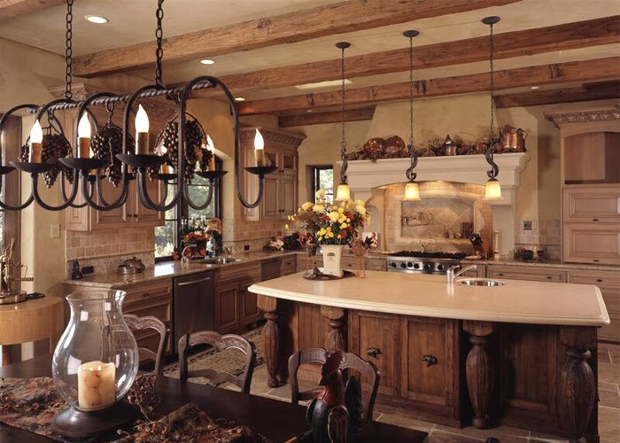 Designs Create French Style Kitchen Country