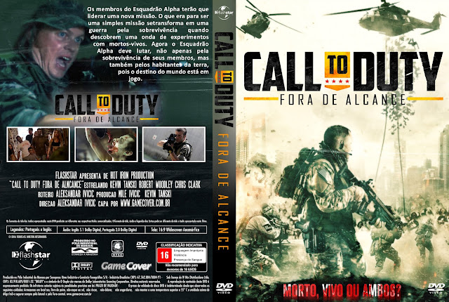 Capa DVD Call To Duty Fora De Alcance [Exclusiva]