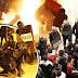 Morte de vendedor revolta o povo em Madrid. Confronto com polícia tem fogo e destruição.