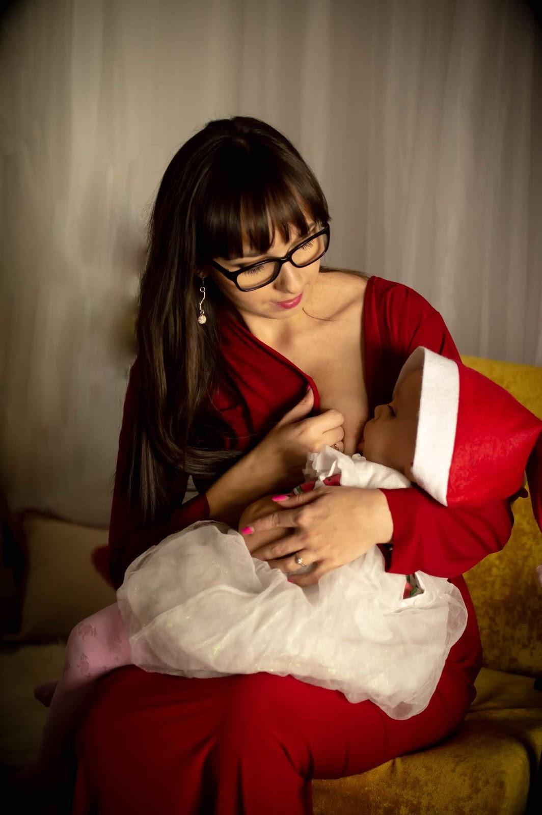 matka karmiąca piersią