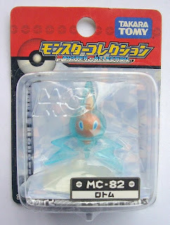 Rotom figure Takara Tomy Monster Collection MC series