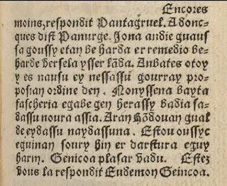 litterature francaise rabelais