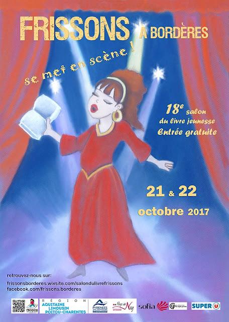 Salon du Livre Frissons à Bordères 2017