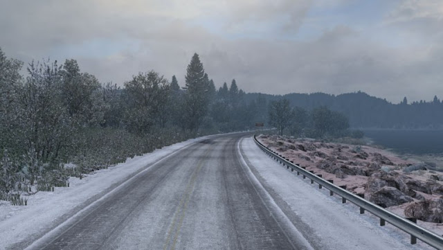 ats mods, american truck simulator mods, ats realistic mods, recommendedmodsats, grime's weather mods, ats weather mod, ats graphic mod, ats winter mod, ats frosty winter weather mod v2.4 screenshots2