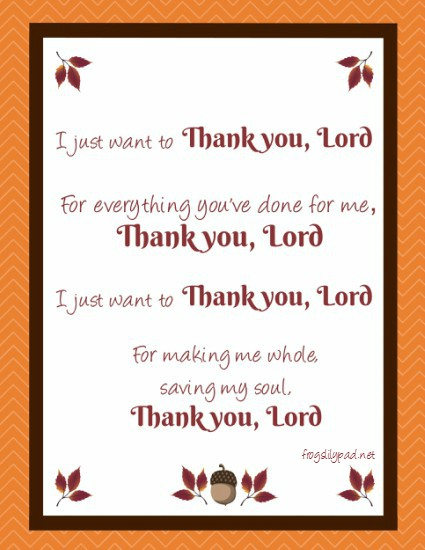No matter what is going on in our lives, Thank you, Lord. A Thankful Thursdays Linkup frogslilypad.net