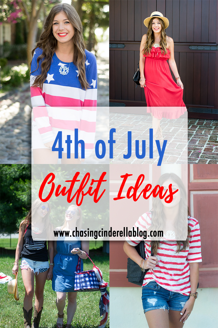 Fourth of July Outfit Ideas | Chasing Cinderella