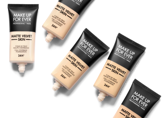 Make Up For Ever Matte Velvet Skin Mattifying Foundation Oily Skin Review MAC Comparisons
