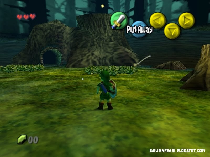 Legend of Zelda The Majora Mask Nintendo 64