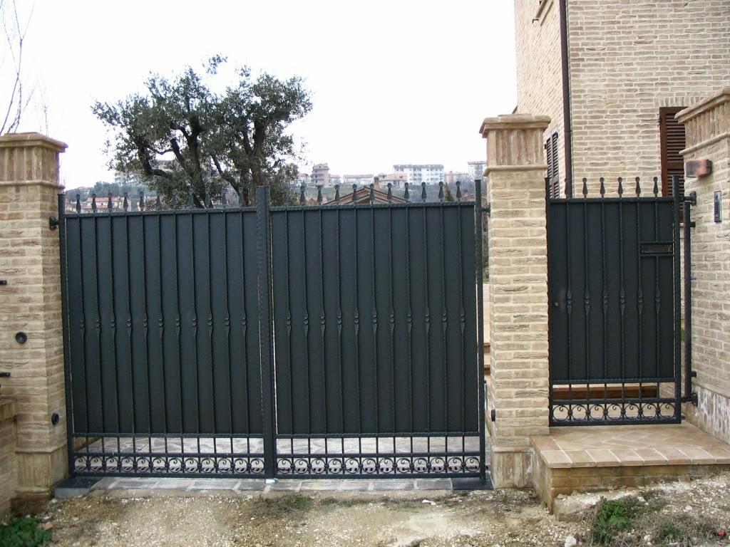 Progetto ferro di roberto benvenuti cancello in ferro for Cancelli bricoman