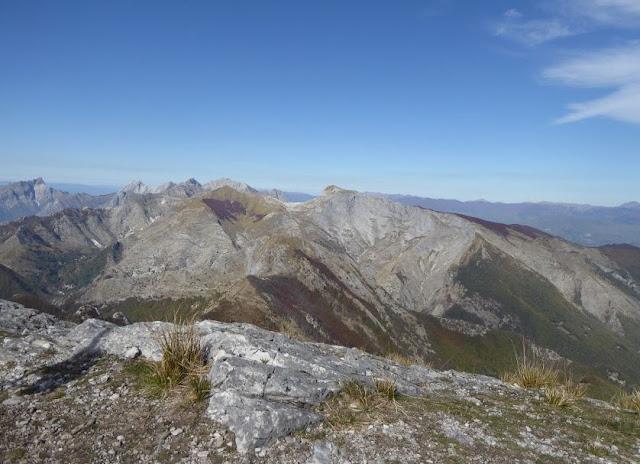 Panorama sulle Alpi Apuane