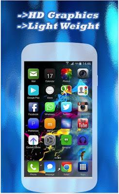 ilauncher 7 i5 prime HD 1.0 Terbaru - Tema IOS di Android