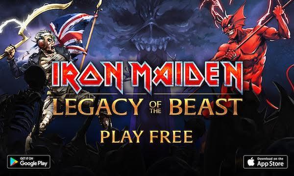 "IRON MAIDEN: Διαθέσιμο το RPG παιχνίδι ""Legacy of the Beast"""