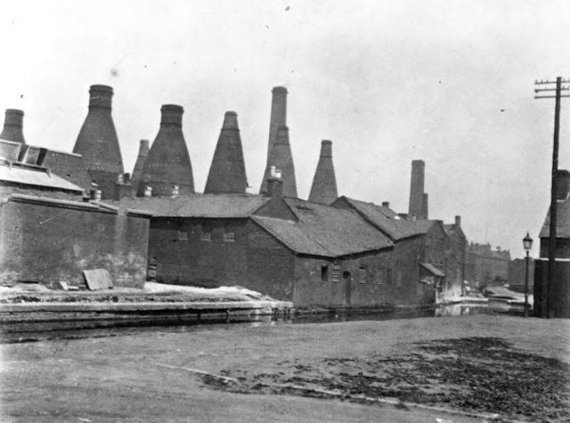Minton factory on London Road, Stoke.