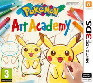 Pokemon Art Academy 3DS, español, mega