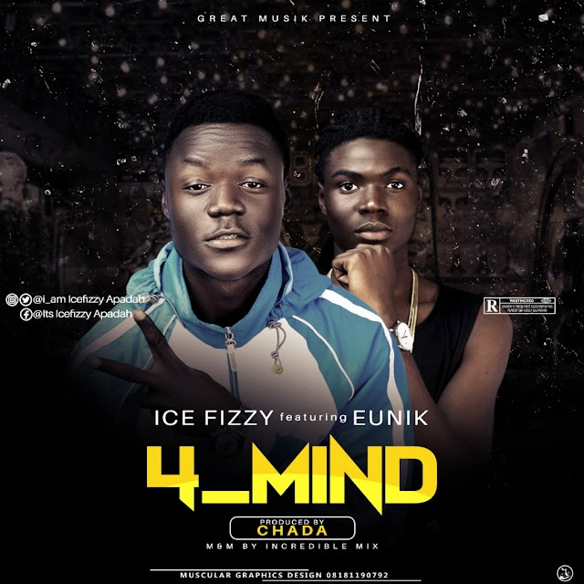 #MUSIC:  Ice Fizzy- 4Mind [Incredible Mix] ft Eunik
