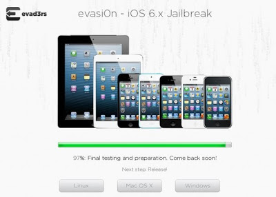 Jaibreak iOS 6 - Evasi0n - Evad3rs