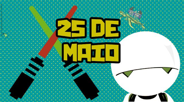 dia da toalha dia do orgulho nerd e glorioso 25 de maio