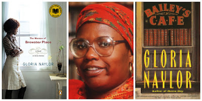 Gloria Naylor author collage