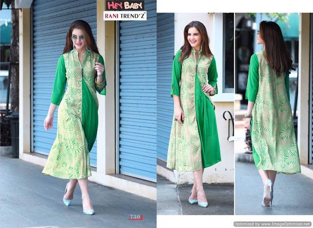 Western Pari-D Kurti Wholesale Catalog 8 Pcs