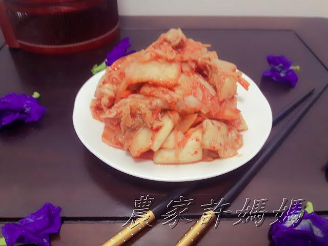 超吸睛韩国泡菜的腌制方法-農家許媽媽