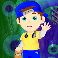 Play Games4King Skateboard School Boy Rescue