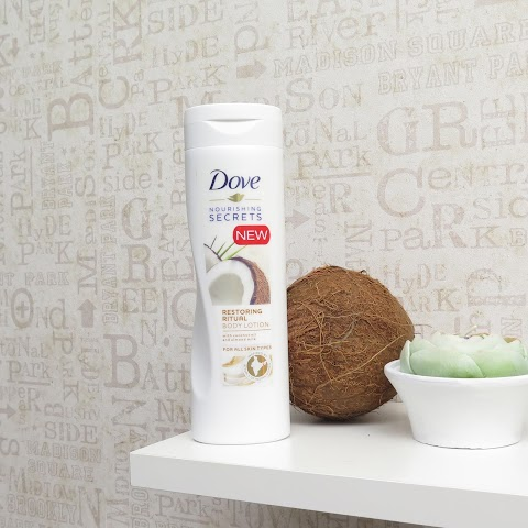 Dove restoring ritual kūno losjonas su kokosų aliejumi*
